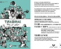 "Segunda parada de la producción ""Tirabirak / Tiras que aflojan"""